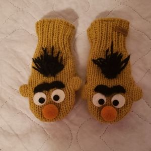 Bert mittens!!